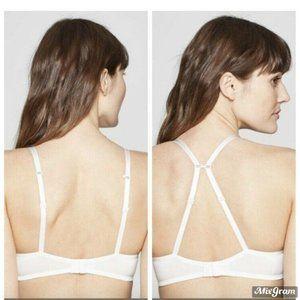 Auden Intimates & Sleepwear - T-Shirt Bra Auden White Convertible Straps 32C NEW